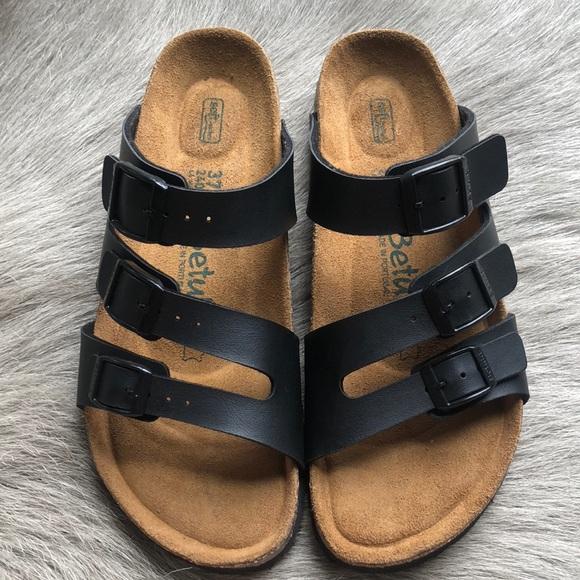 ebe8cf7d6c05 Birkenstock Shoes | New Betula Three Strap Soft Footbed Sandals 37 ...